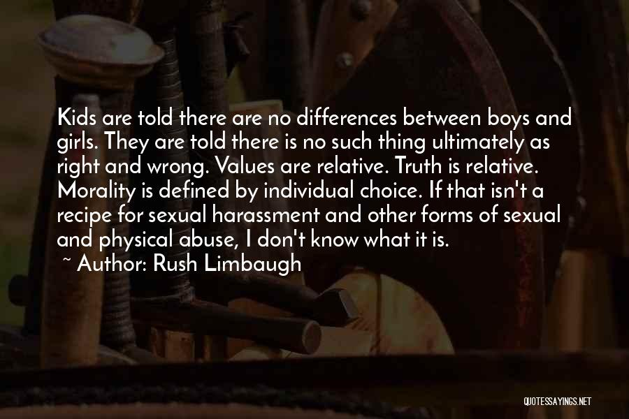 Truth Is Relative Quotes By Rush Limbaugh