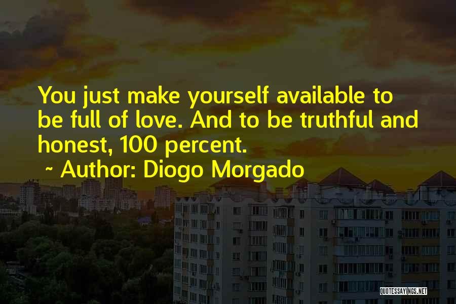 Truthful And Honest Quotes By Diogo Morgado