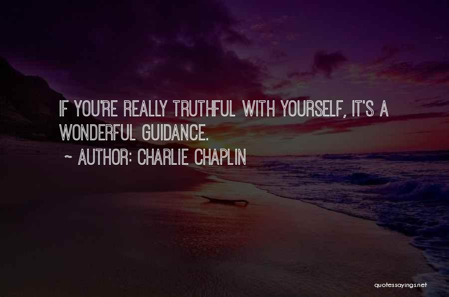 Truthful Quotes By Charlie Chaplin