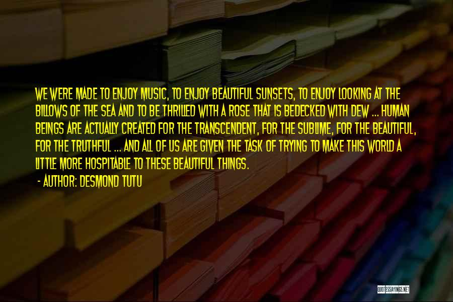 Truthful Quotes By Desmond Tutu