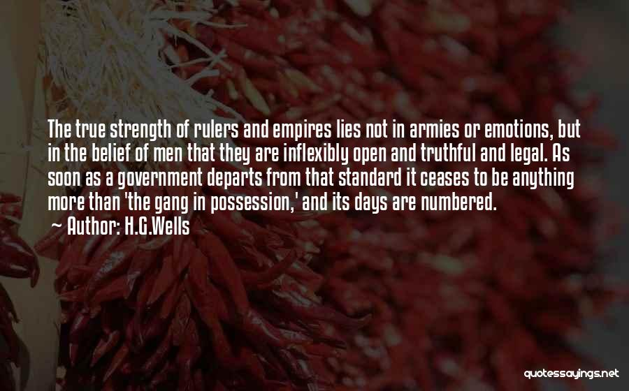 Truthful Quotes By H.G.Wells