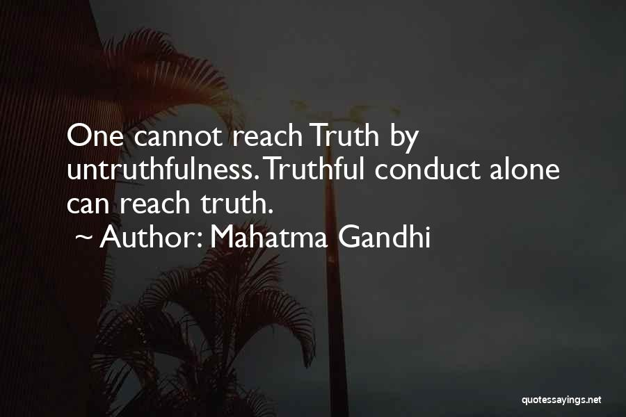 Truthful Quotes By Mahatma Gandhi