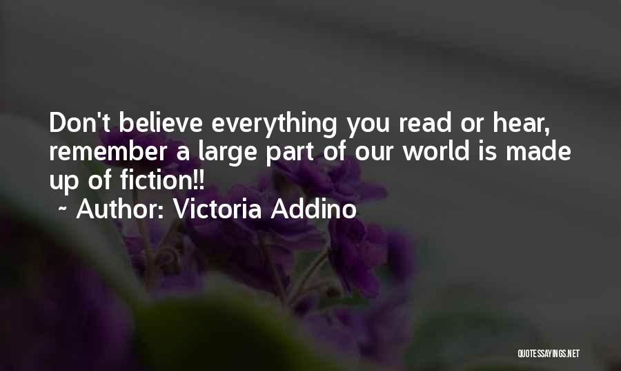 Truthful Quotes By Victoria Addino