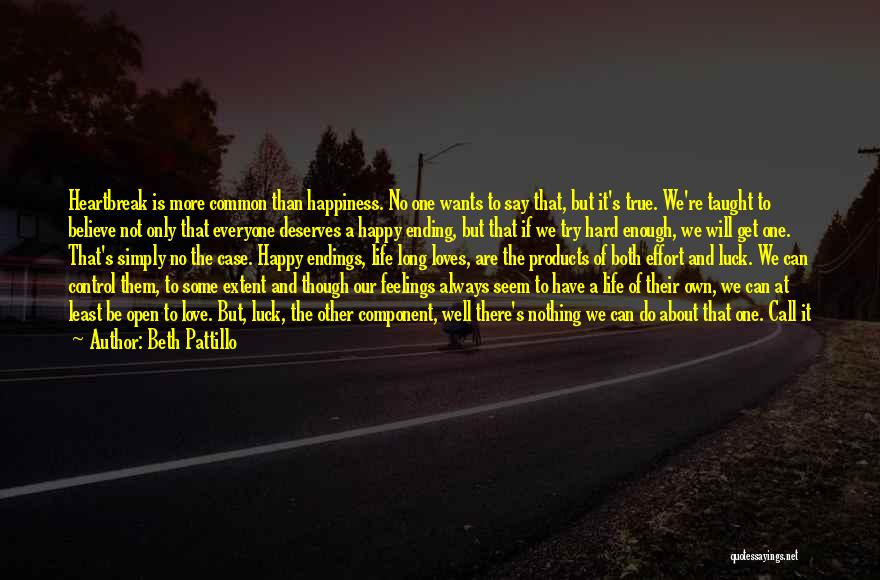 Try Hard Love Quotes By Beth Pattillo