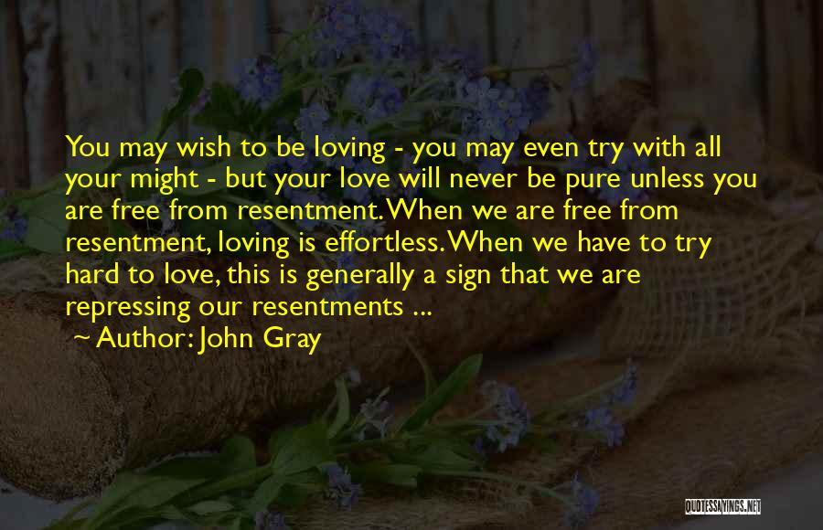 Try Hard Love Quotes By John Gray