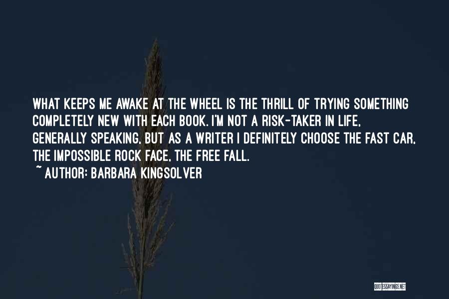 Trying The Impossible Quotes By Barbara Kingsolver