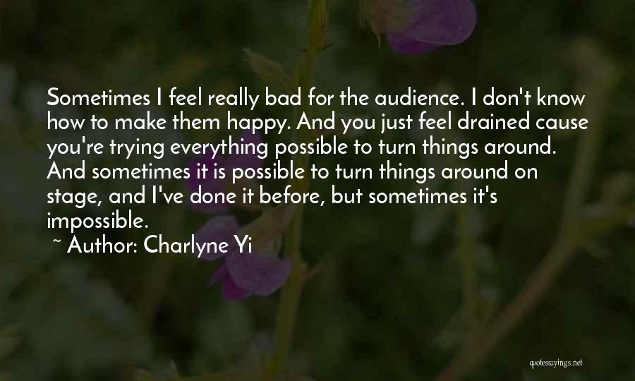 Trying The Impossible Quotes By Charlyne Yi