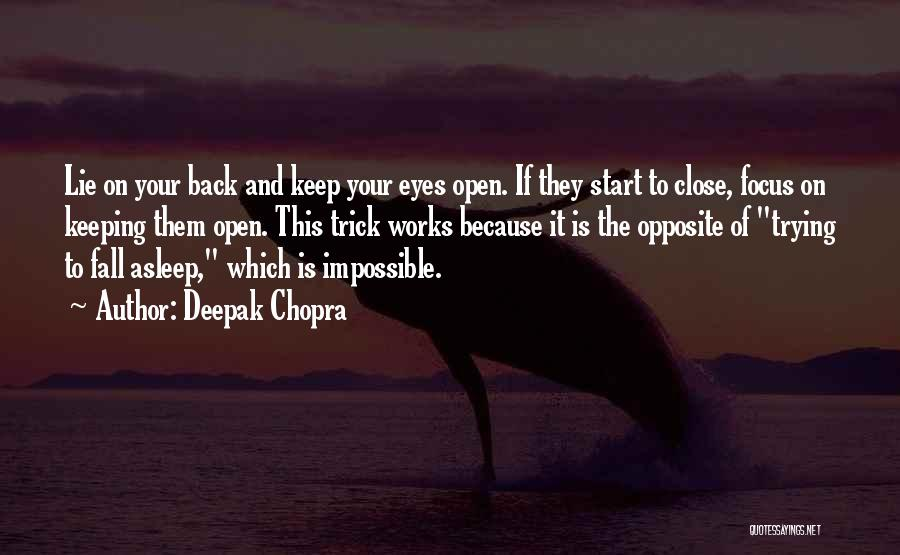 Trying The Impossible Quotes By Deepak Chopra
