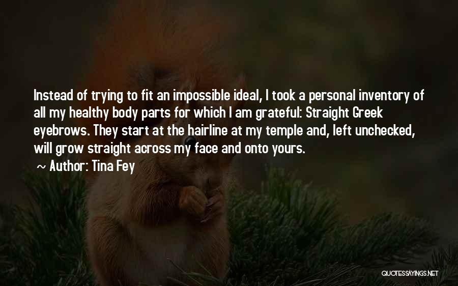 Trying The Impossible Quotes By Tina Fey
