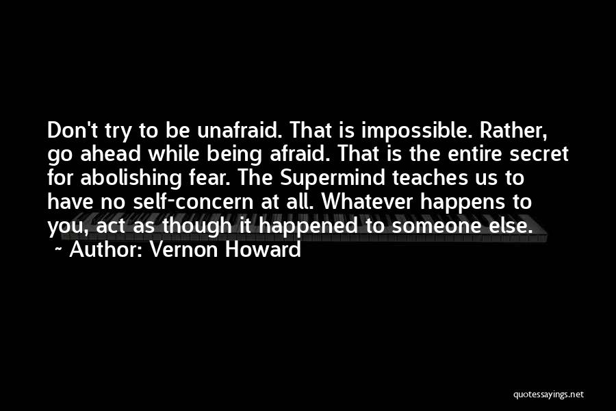 Trying The Impossible Quotes By Vernon Howard