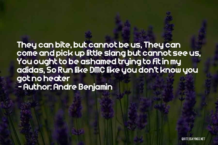 Trying To Be Fit Quotes By Andre Benjamin