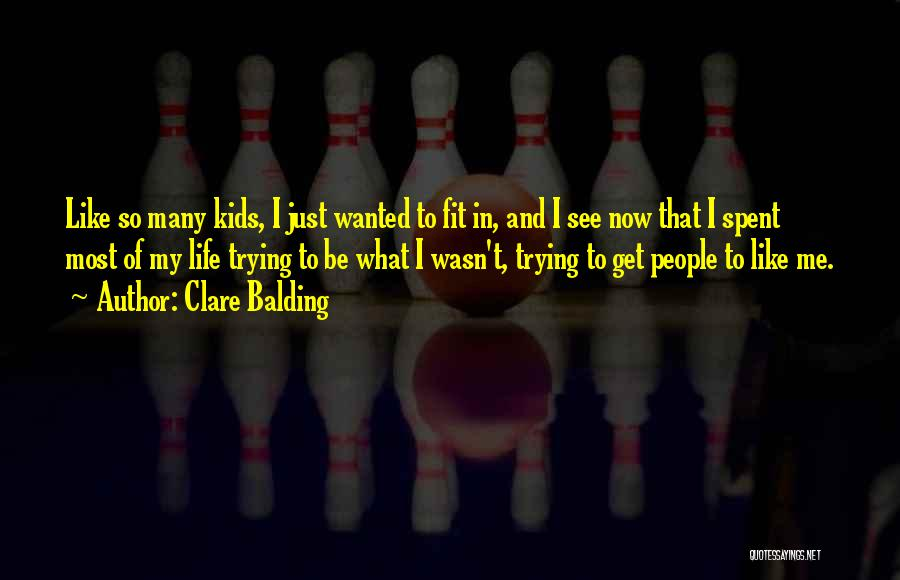 Trying To Be Fit Quotes By Clare Balding