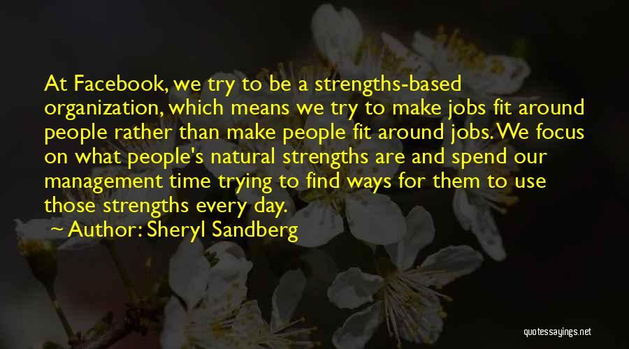 Trying To Be Fit Quotes By Sheryl Sandberg