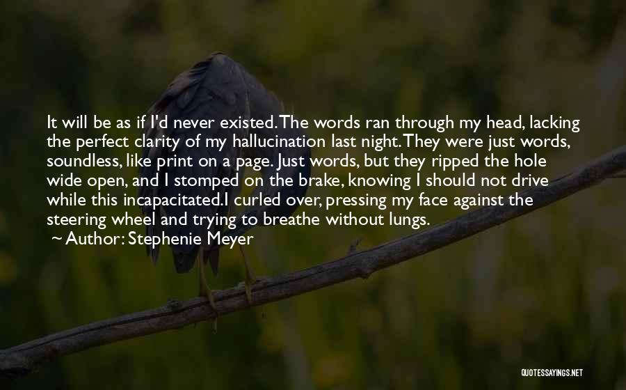 Trying To Be Perfect Quotes By Stephenie Meyer
