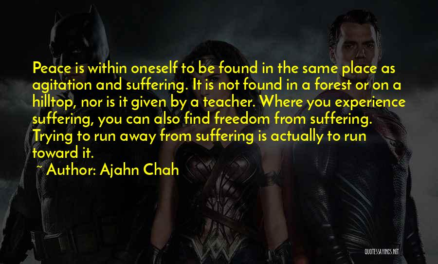 Trying To Find You Quotes By Ajahn Chah