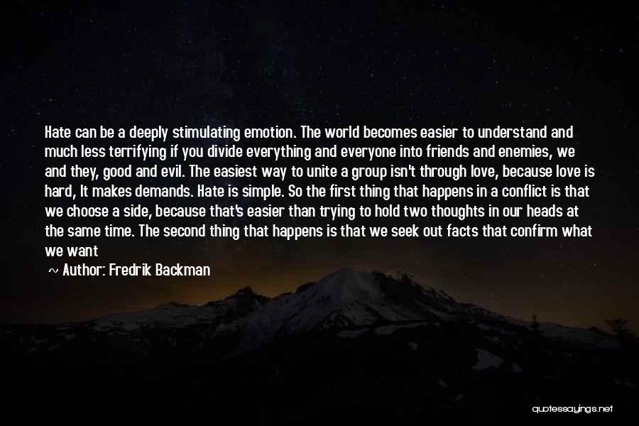 Trying To Hold Onto Love Quotes By Fredrik Backman