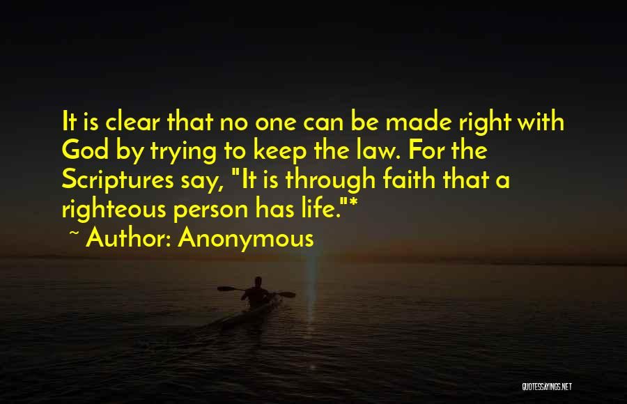 Trying To Keep Someone In Your Life Quotes By Anonymous