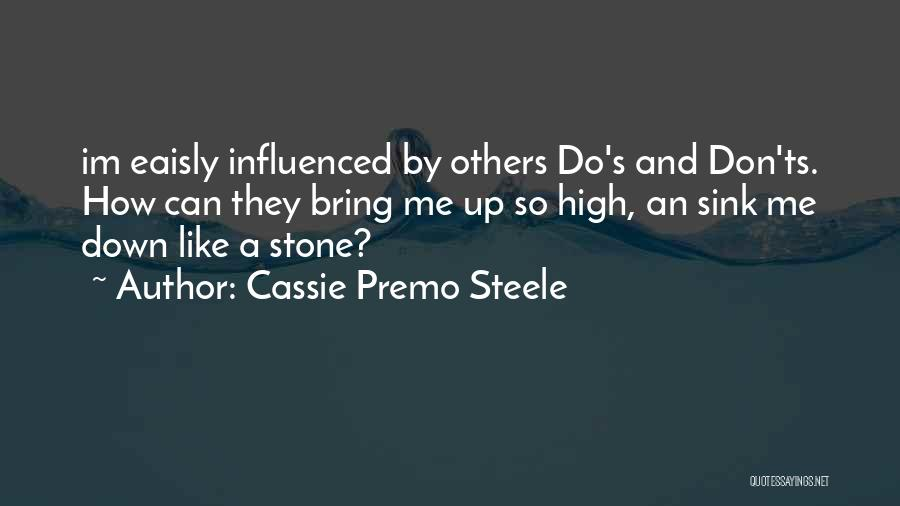Ts Quotes By Cassie Premo Steele