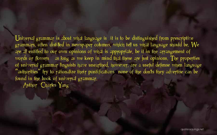 Ts Quotes By Charles Yang
