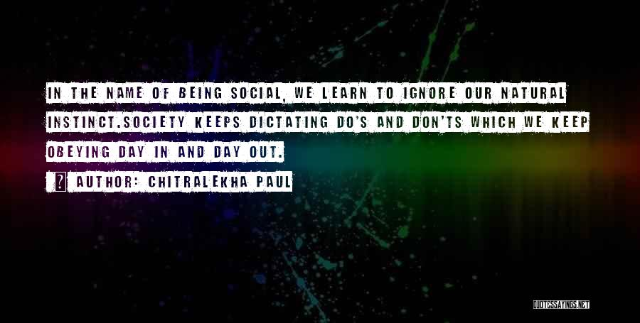 Ts Quotes By Chitralekha Paul