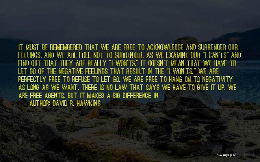 Ts Quotes By David R. Hawkins