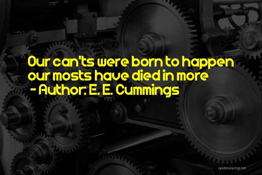 Ts Quotes By E. E. Cummings