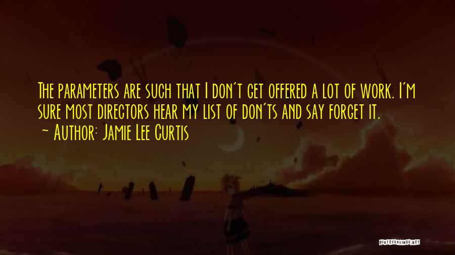 Ts Quotes By Jamie Lee Curtis