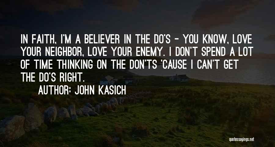 Ts Quotes By John Kasich