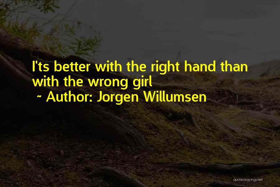 Ts Quotes By Jorgen Willumsen