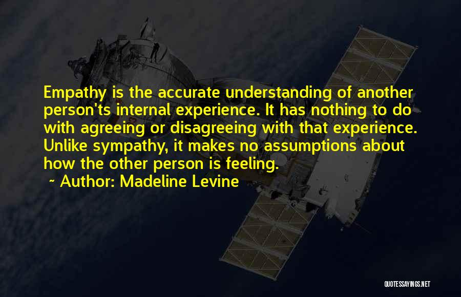 Ts Quotes By Madeline Levine