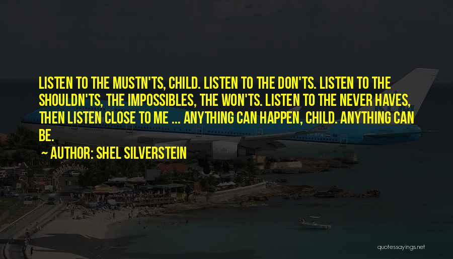 Ts Quotes By Shel Silverstein