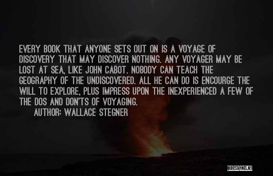 Ts Quotes By Wallace Stegner