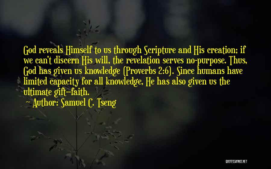Tseng Quotes By Samuel C. Tseng