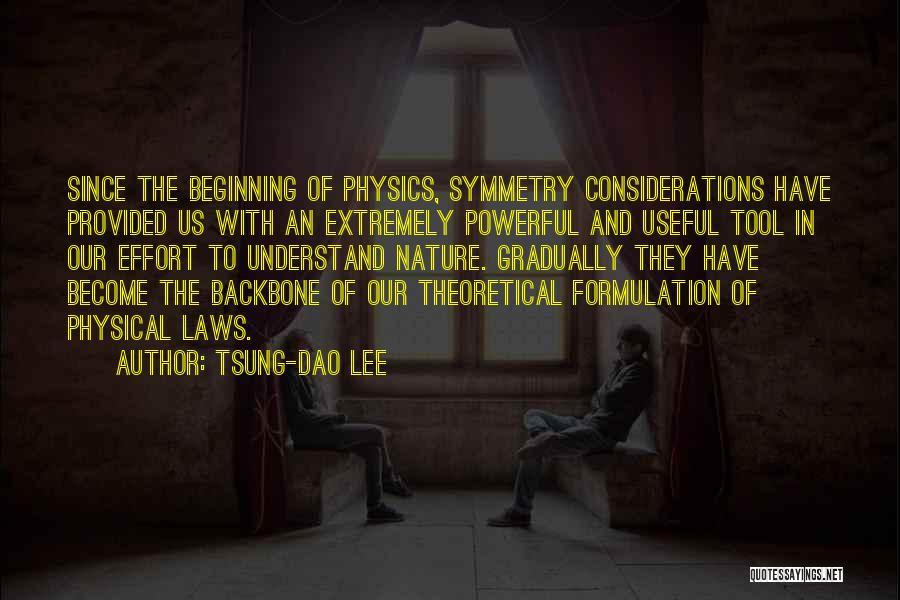 Tsung-Dao Lee Quotes 459922