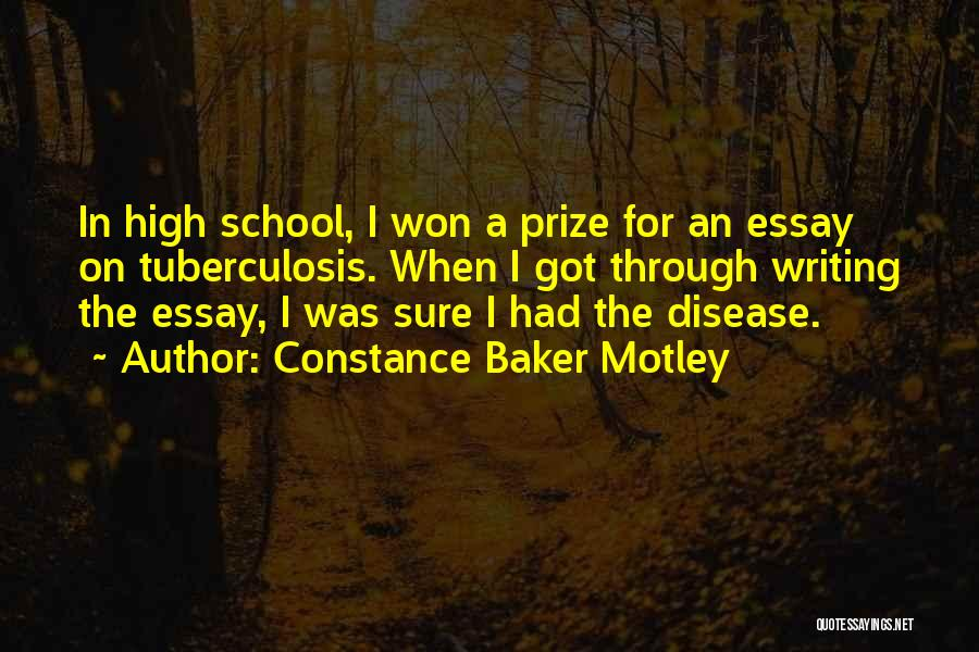 Tuberculosis Quotes By Constance Baker Motley