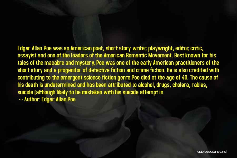Tuberculosis Quotes By Edgar Allan Poe