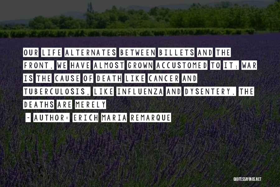 Tuberculosis Quotes By Erich Maria Remarque