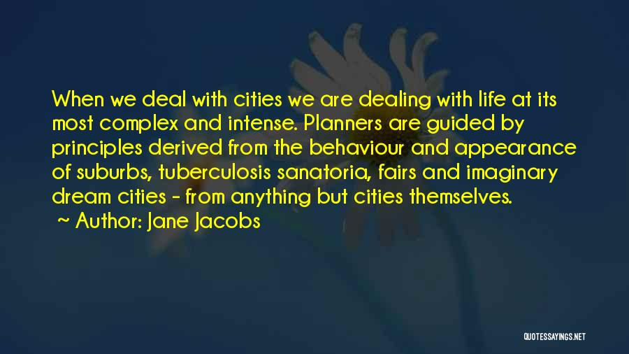 Tuberculosis Quotes By Jane Jacobs
