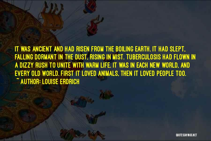 Tuberculosis Quotes By Louise Erdrich