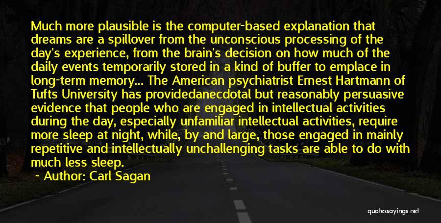 Tufts Quotes By Carl Sagan