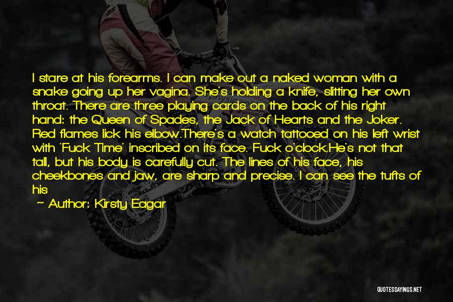 Tufts Quotes By Kirsty Eagar