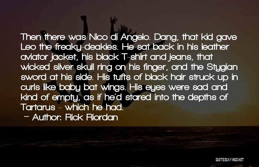 Tufts Quotes By Rick Riordan