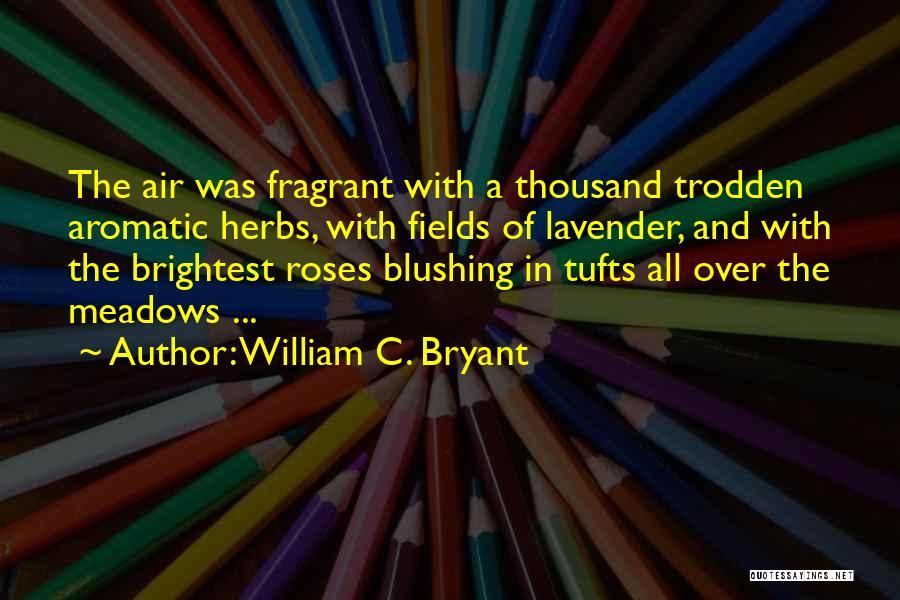 Tufts Quotes By William C. Bryant