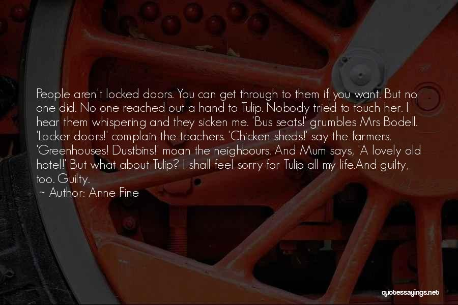 Tulip Quotes By Anne Fine