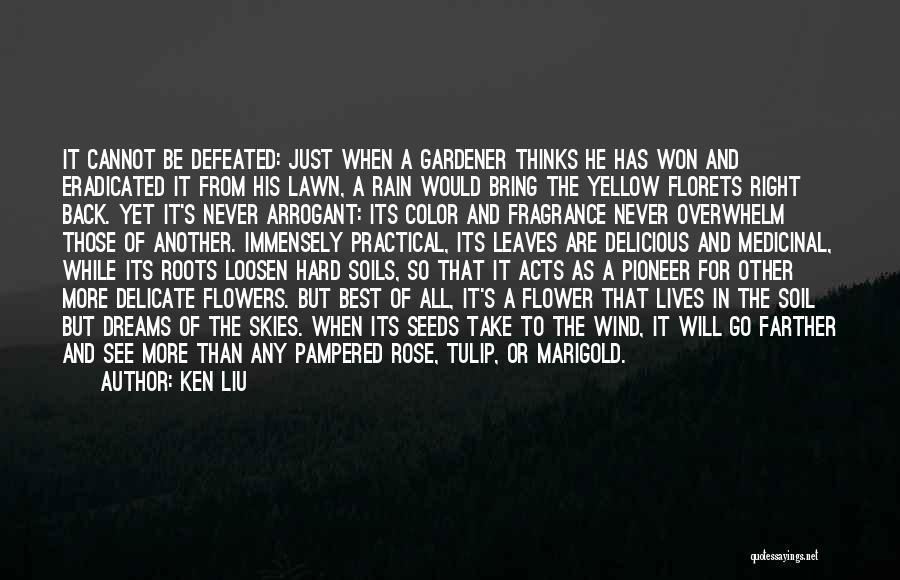 Tulip Quotes By Ken Liu