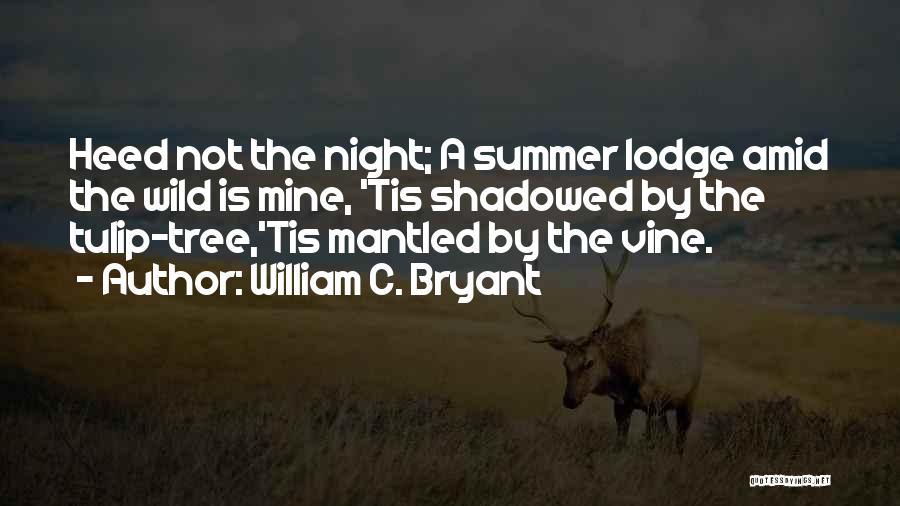 Tulip Quotes By William C. Bryant