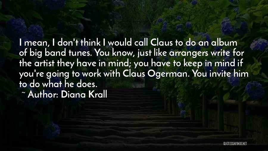 Tunes Quotes By Diana Krall