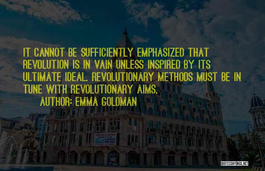 Tunes Quotes By Emma Goldman