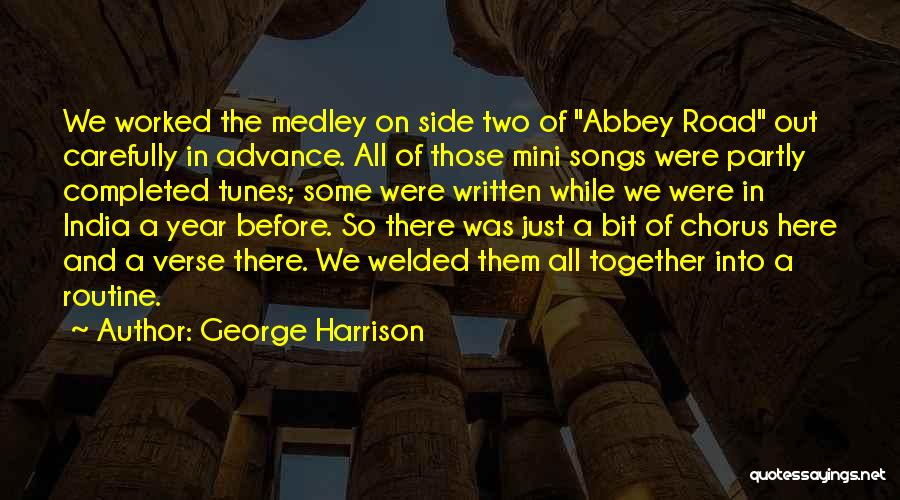 Tunes Quotes By George Harrison