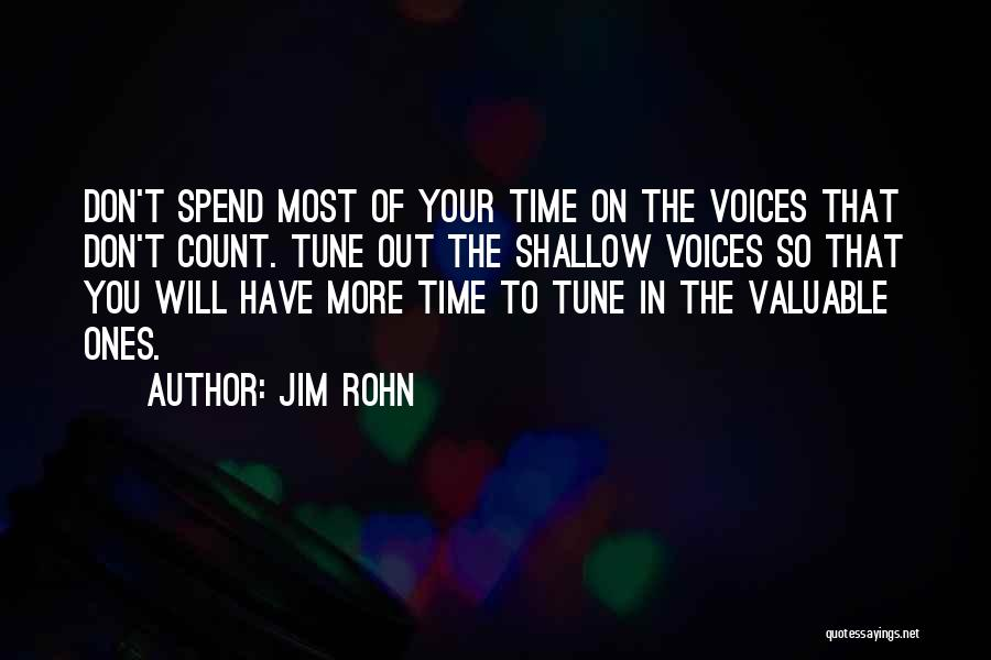 Tunes Quotes By Jim Rohn